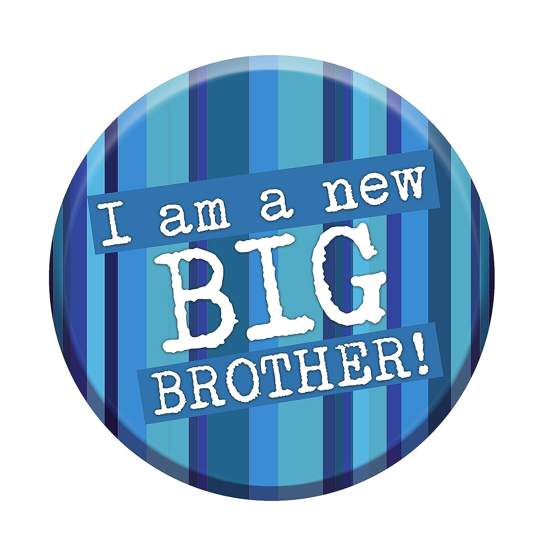 【送料無料】 私は新しいビッグブラザーバッジです76mmおめでとうございます新しいベイビーギフト兄弟 B071XVYNN1 B071XVYNN1, 平生町:c364aea9 --- mcrisartesanato.com.br
