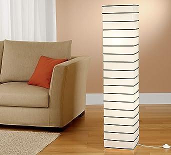 Trango Lámpara de pie lámpara de papel de arroz de diseño moderno ...