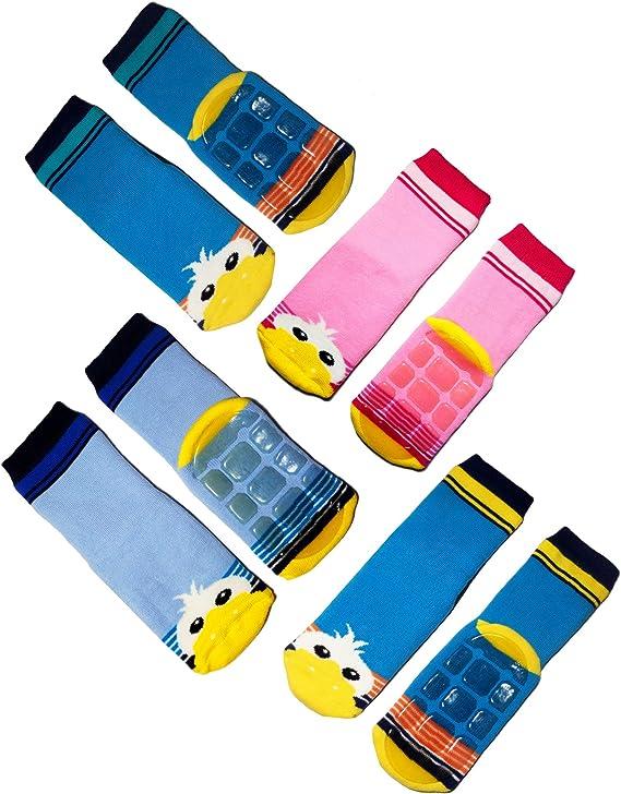 Weri Spezials Calcetines para beb/é y ni/ño pl/ástico ABS, dise/ño de conejo