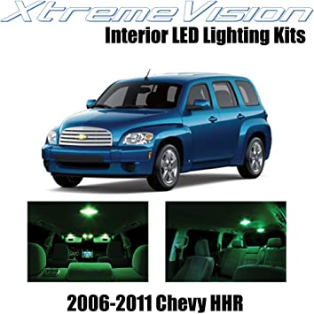 Amazon Com Xtremevision Interior Led For Chevy Hhr 2006 2011 11