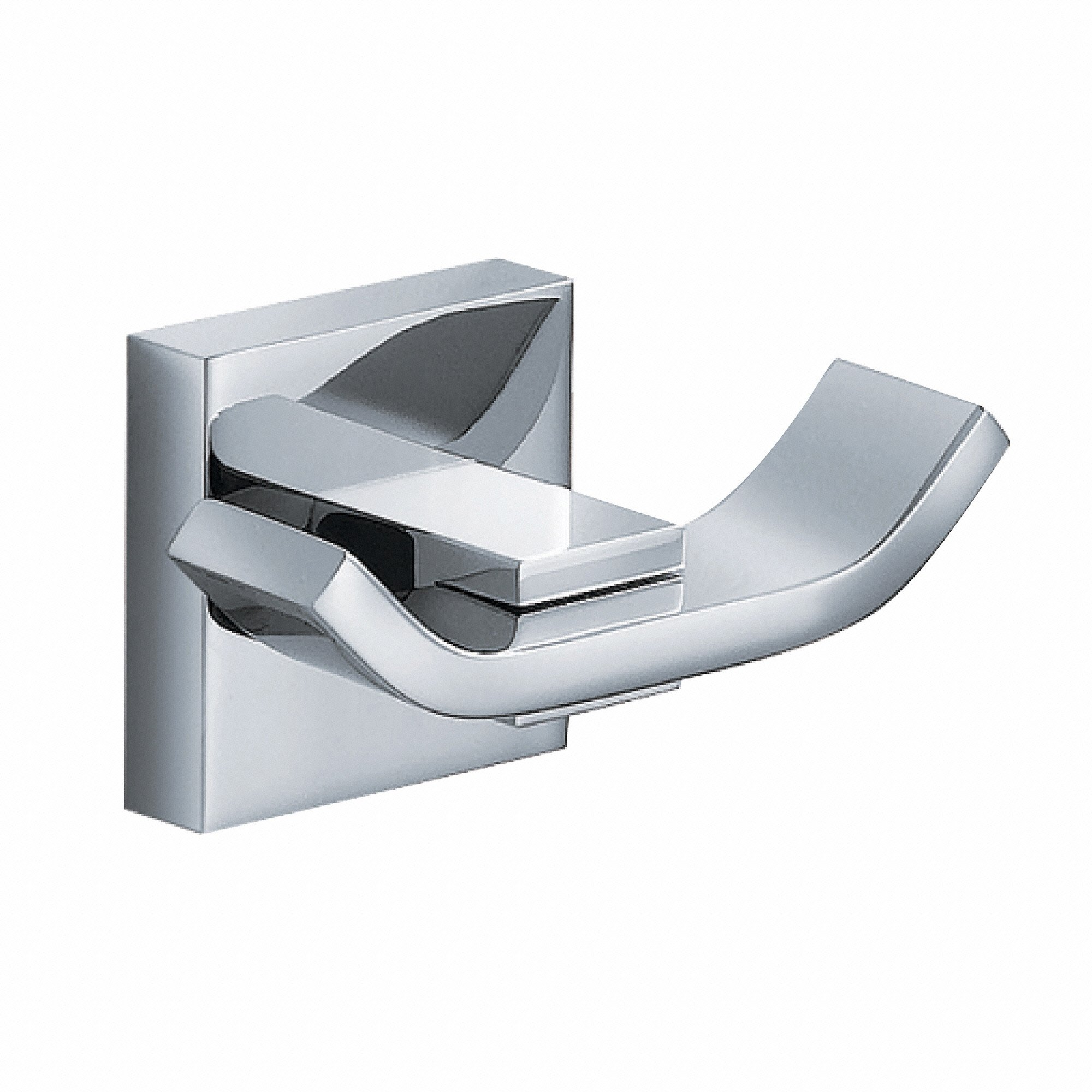 Kraus KEA-14401CH Aura Bathroom Accessories - Double Hook by Kraus