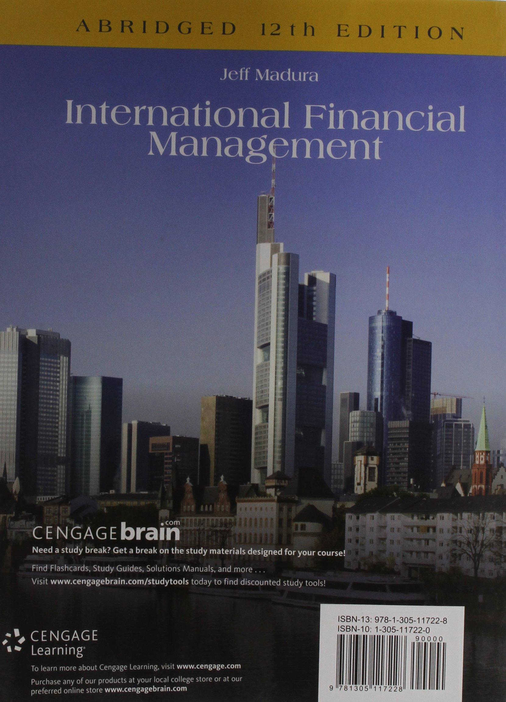 International Financial Management, Abridged by South-Western College Pub