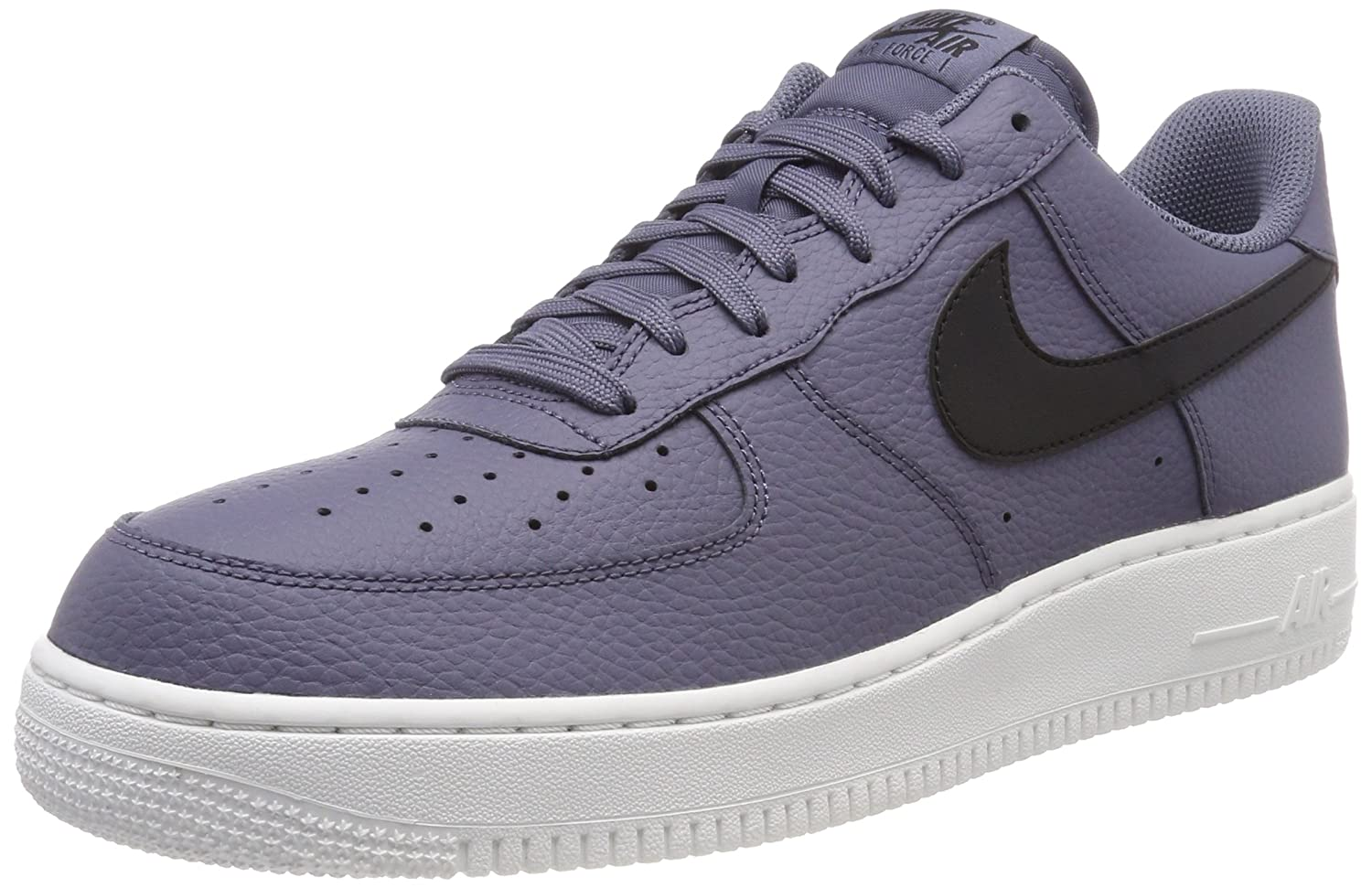 Nike Herren Air Force 1 07 Gymnastikschuhe, Light Carbon/Black  39 EU|Grau (Light Carbon/Black/Summit White 006)