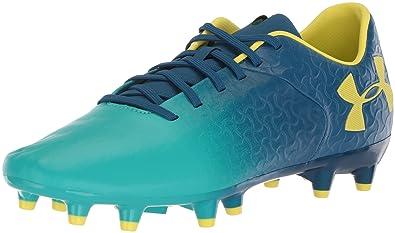 quality design d541b 1f57c Under Armour Magnetico Premier FG Football Boots - Teal Punch Moroccan  Blue Tokyo Lemon