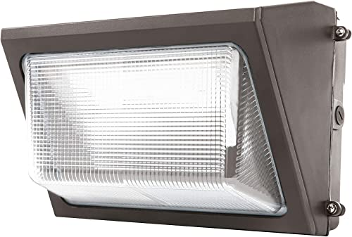 Sunco Lighting 80W LED Wall Pack, Daylight 5000K, 7600 LM, HID Replacement, IP65, 120-277V, Bright Consistent Commercial Outdoor Security Lighting – ETL, DLC Listed