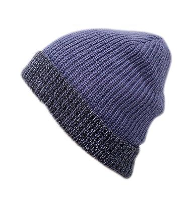 0bff79c121e FRIENDSKART Printed Men Winter Hat Knitted Square Striped Cap Hollow Double  Wear Women Hat Unisex Beanie Keep Warm Woolen Hat  Amazon.in  Clothing   ...