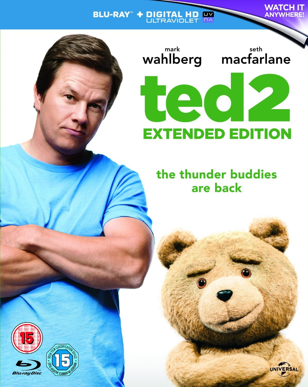 Ted 2 - Extended Edition [Blu-ray]
