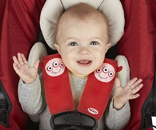 Nuby Car Seat StrapCovers 2-Pa...