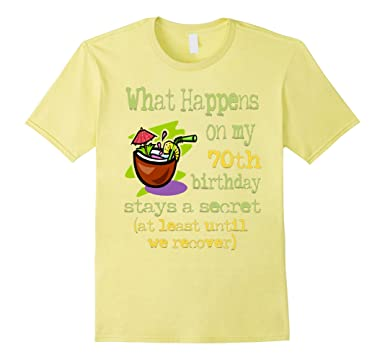 Mens 70th Birthday T Shirts