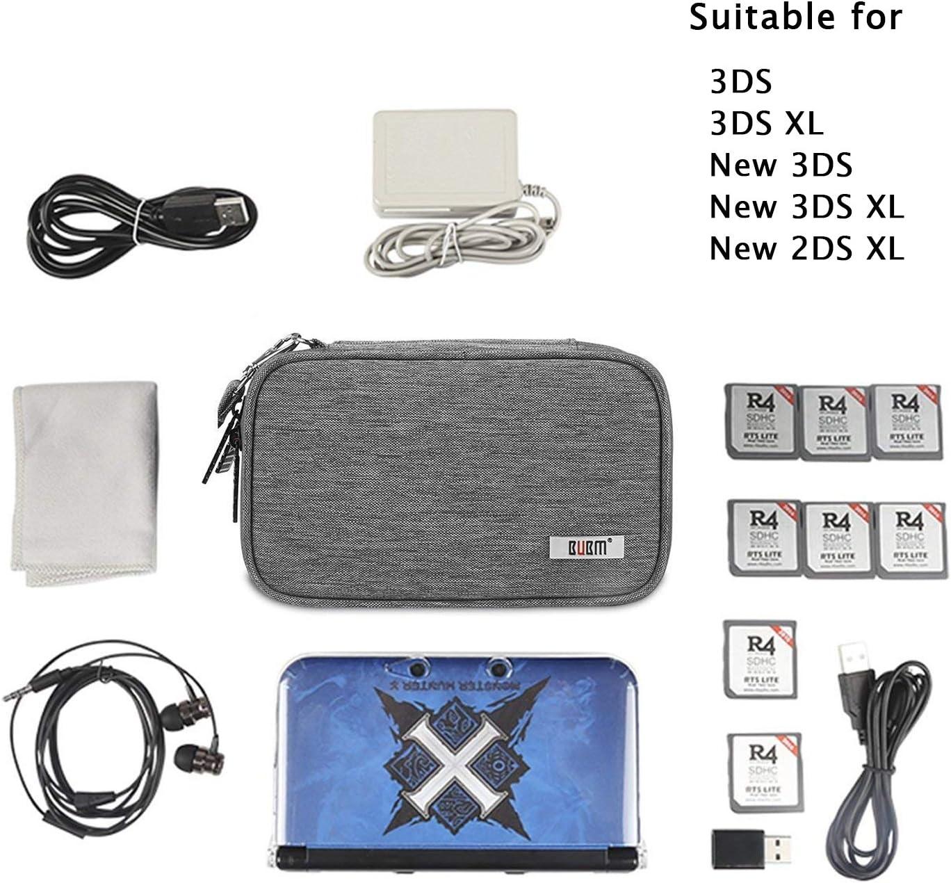 Amazon.com: BUBM 3DS/3DS XL/New 2DS XL - Maletín de ...