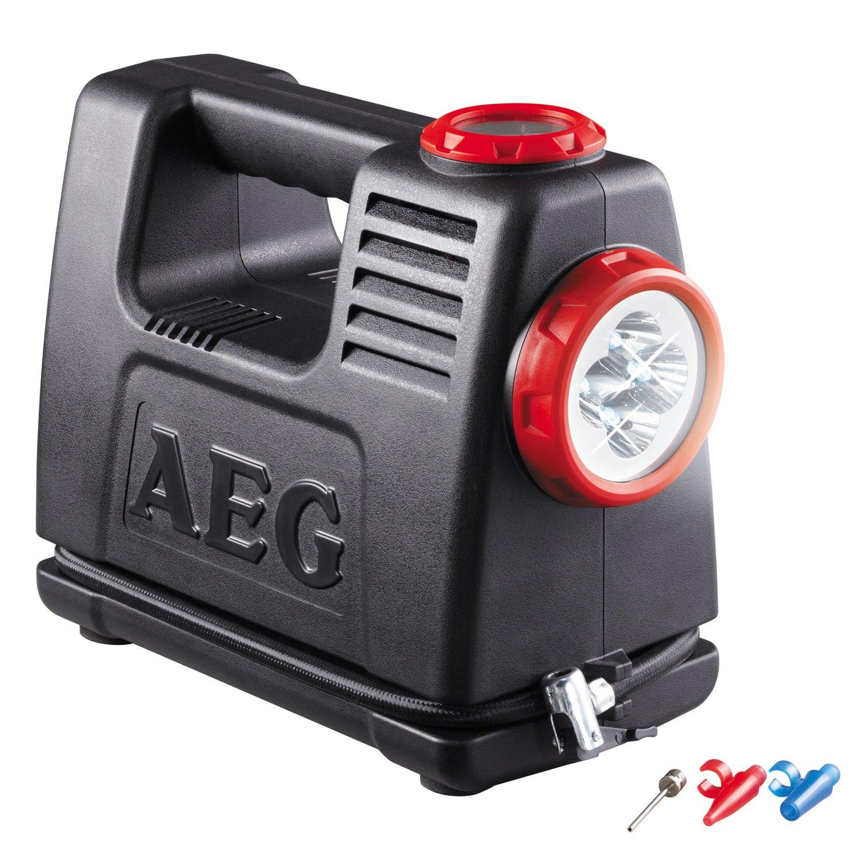 AEG 97180 Estación de aire y energís de batería LA 10, fuente de alimentación móvil con adaptador de 12 y 230 Voltios, máximo 10 bares: Amazon.es: Coche y ...