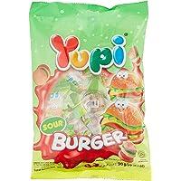 Yupi Sour Mini Burger Gummy Candies, 96 g
