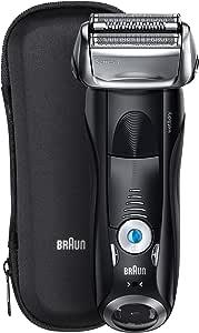 Braun Series 7 7840s Wet and Dry Electric Shaver, premium black