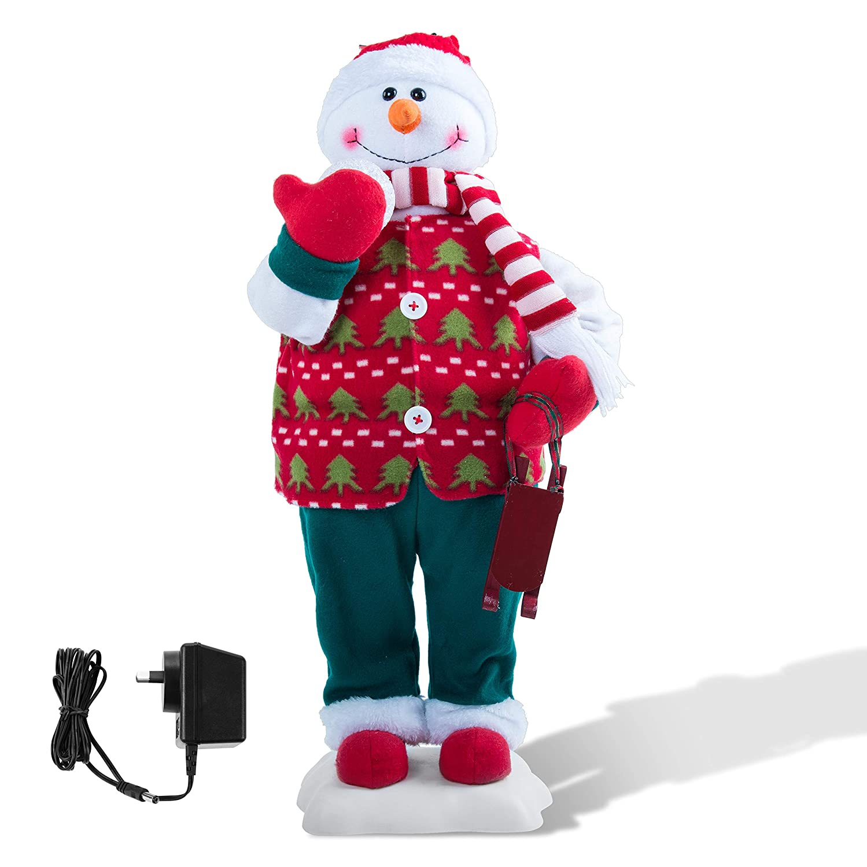 Amazon Santa s Gems Christmas Decorations Animated Standing
