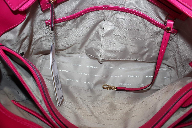 34cf19fd643a4 Damen Accessoires Michael Kors Shopper Tasche Voyager Blumendruck Frühling-Sommer  2018  Amazon.de  Schuhe   Handtaschen