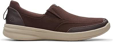 Clarks Slip On Shoes for Men Size 10.5 UK, Brown