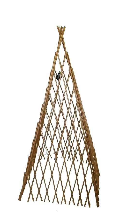 Yellow Master Garden Products BT-72 Bamboo Teepee Trellises