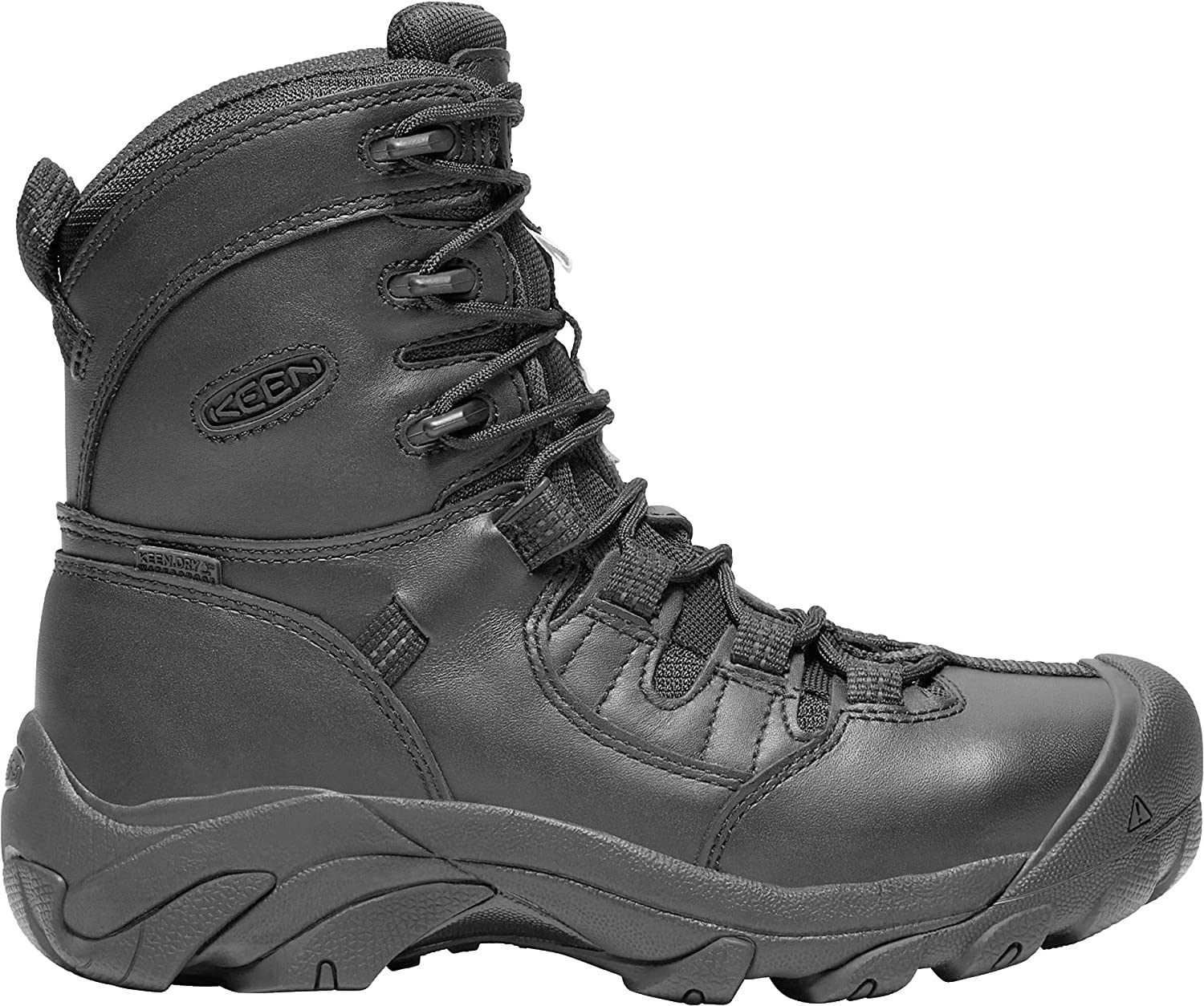 KEEN Utility - Women's Detroit 8' Waterproof (Soft Toe) Work Boots