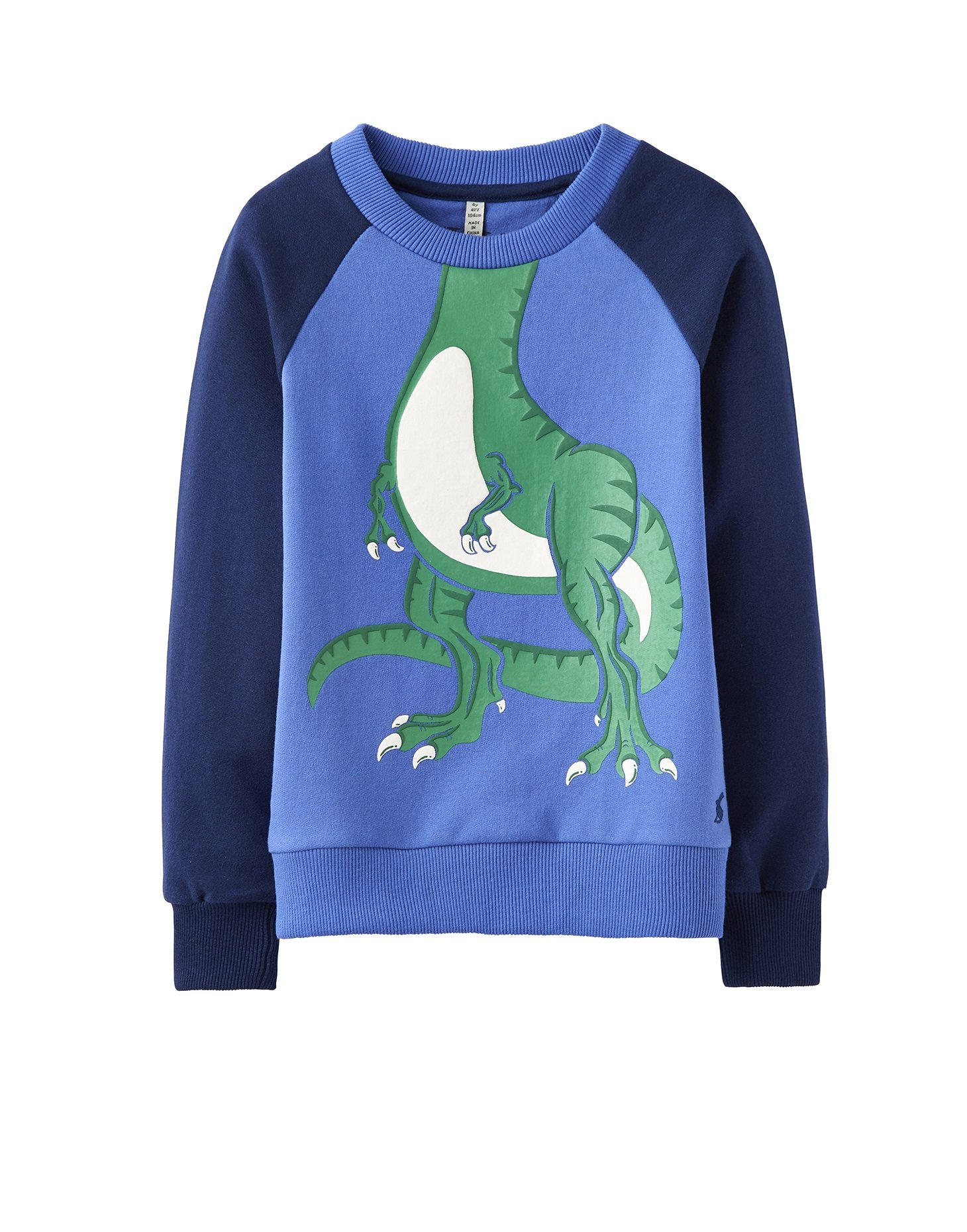 Joules Novelty Sweatshirt - Dazzling Blue - 1 Year - 80 cm by Joules