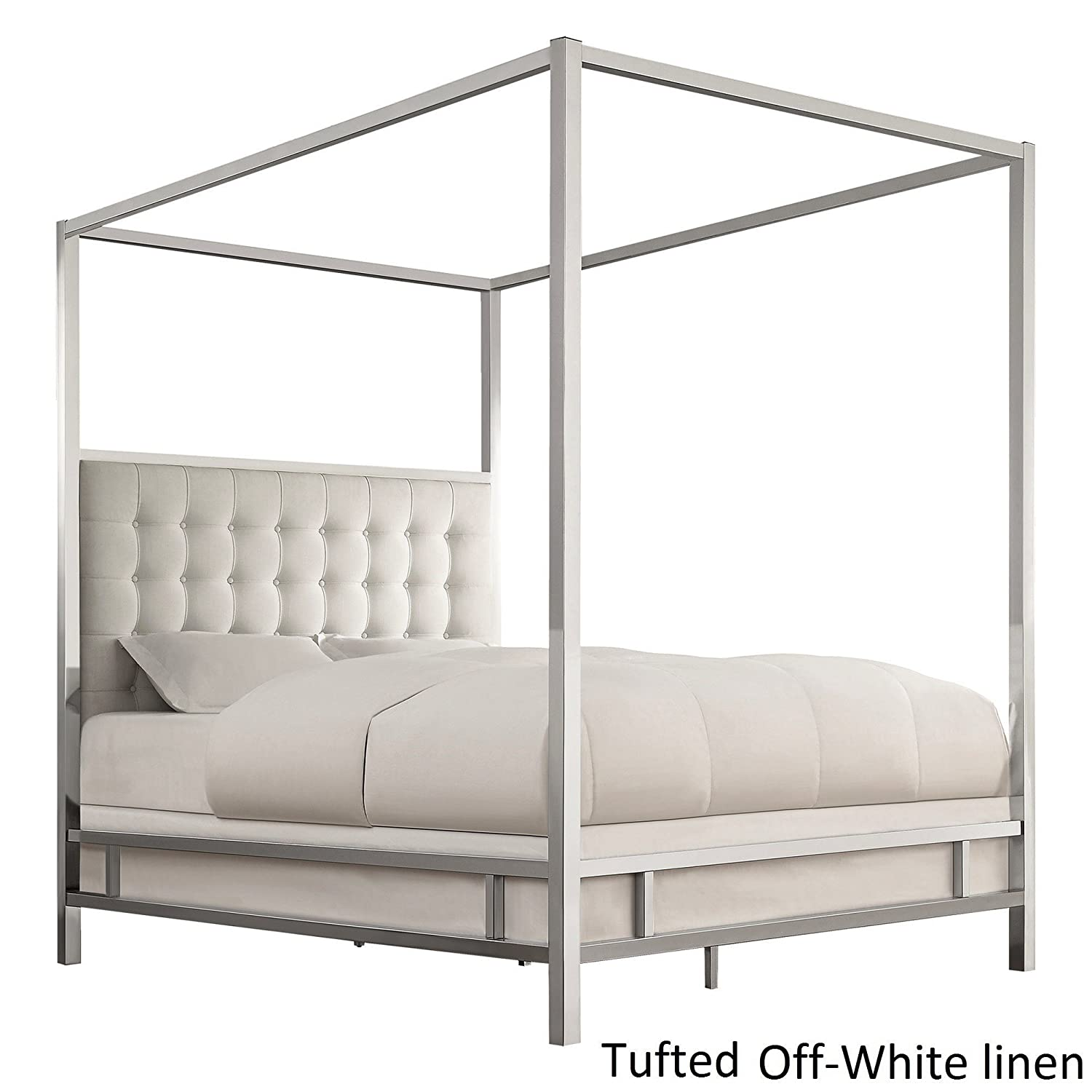 Amazon Canopy Poster Bed In King Size With Headboard and