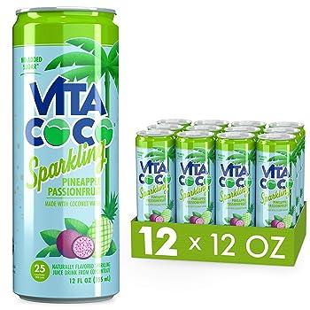 Vita Coco 25 Calories Sparkling Pineapple Juice