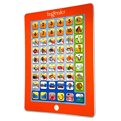 Ingenio Smart Play Pad (English and French), Multi, Model:59213: Toys & Games