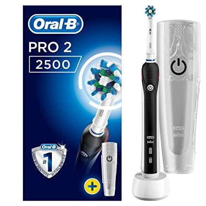 Oral-B PRO 2 2500 CrossAction - Cepillo de Dientes Eléctrico