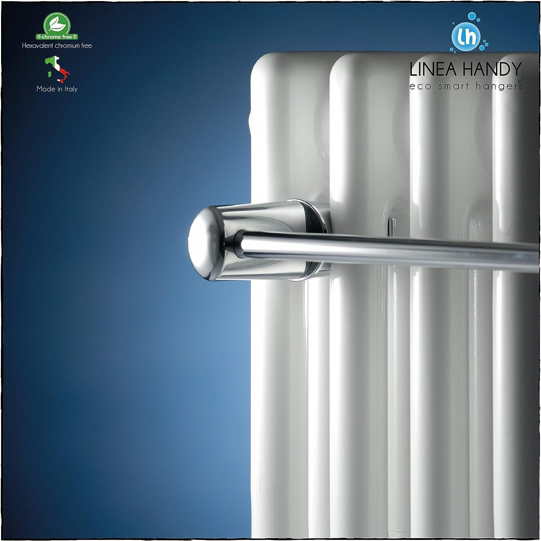 Handy Linear 315 Tubulaire Barre porte-serviettes pour radiateur tubulaire /à plusieurs colonnes Se fixe directement sur le radiateur tubulaire Blanc