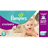 Pampers Cruisers Disposable Diapers Size 3, 128 Count, GIANT