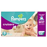 Amazon Price History for:Pampers Cruisers Diapers Giant Pack, Size 3, 128 Count