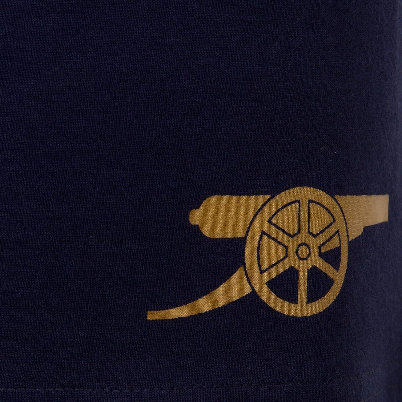 Arsenal Football Club Official Soccer Gift Boys Kids Kit Pajamas Red White