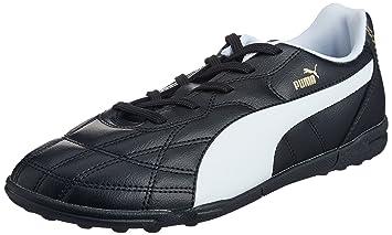 98dd196531f65d Amazon.com   PUMA Classico TT Jr Turf Boots - Youth - Black White ...