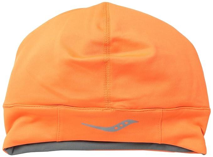 9f5f5260 Amazon.com: Saucony Drylete Skull Cap (Vizipro Orange, One Size ...