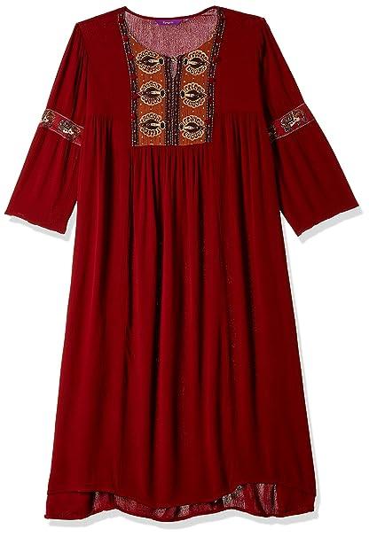 Rangriti Women's Straight Kurta Ethnic Wear at amazon