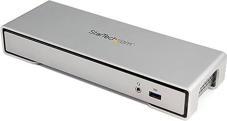 Startech Black Usb3dockhdpc Universal Usb 3.0 4k Laptop Docking Station W// 4k Di