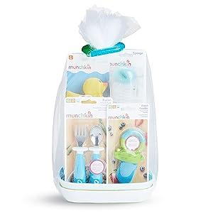 Munchkin New Beginnings Gift Basket, Blue