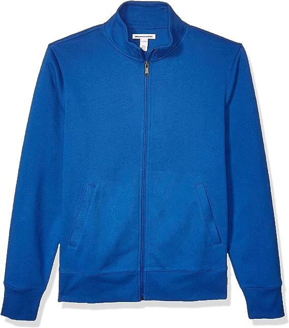 Essentials Full-Zip Fleece Mock Neck Sweatshirt Uomo