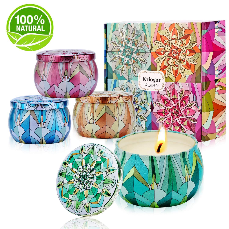 Velas Aromáticas Perfumadas, Jazmín, Leche, Rosa, Lirio