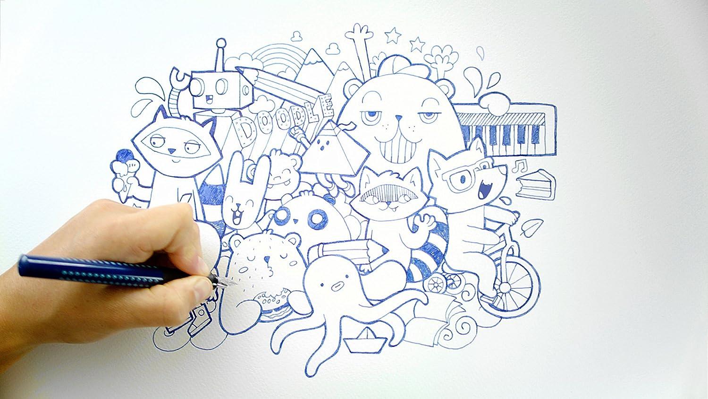 Faber-Castell Grip 2011/140907/Fountain Pen Nib F Fountain Pen Blue