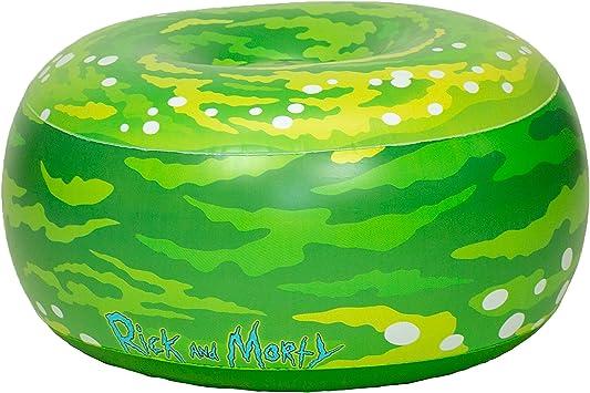 Amazon.com: Rick & Morty - Silla otomana hinchable para ...