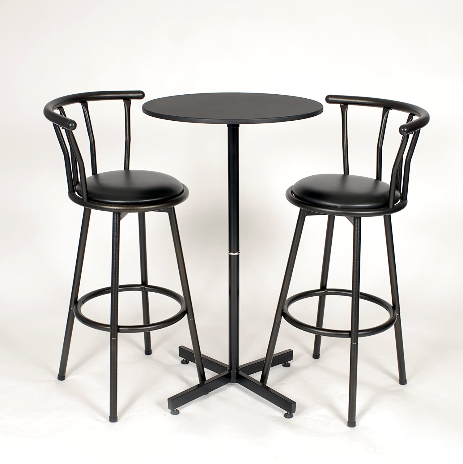 100 round bar table and chairs funiture silver beth b bar t