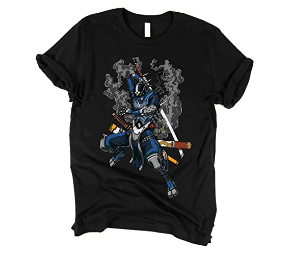 Ninja Samurai T-Shirt - Boys Ninja Tees - Mens ... - Amazon.com