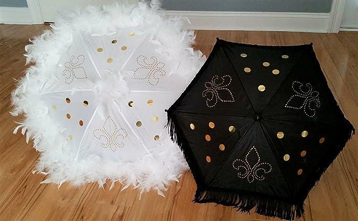 Amazon Com Wedding Second Line Parasol Umbrellas Handmade In New