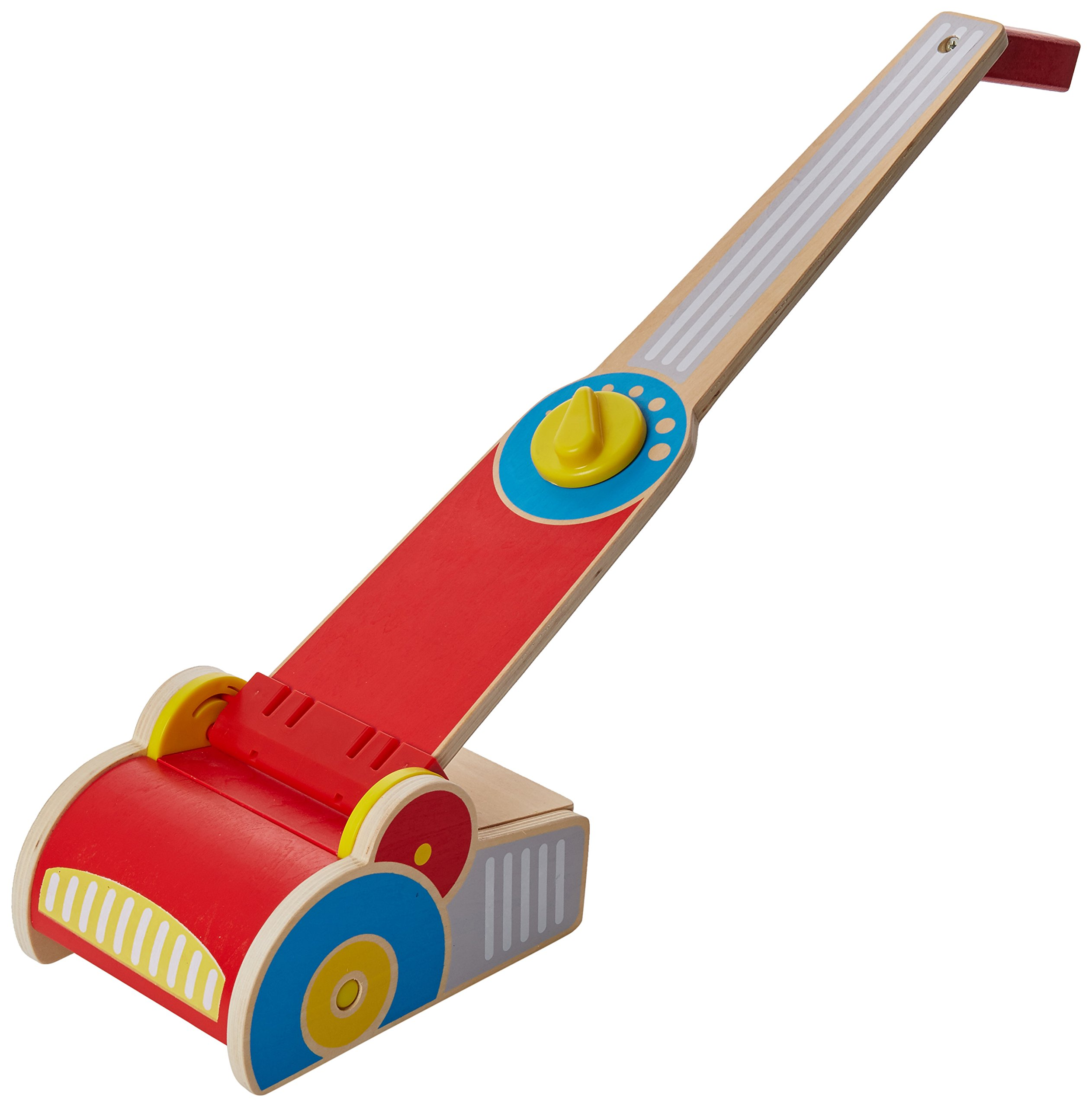 Melissa & Doug Wooden Vacuum Up Play Set - 6 Wooden Pieces to Pick Up