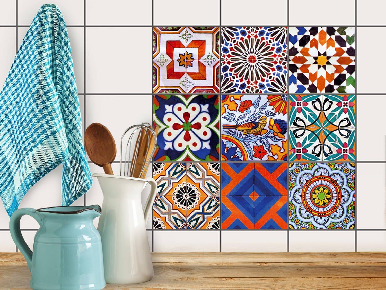 Decori cucina piastrelle decorative per cucina stickers for Piastrelle decorative per cucina