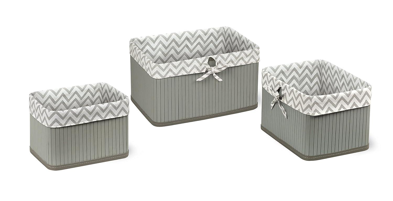 Badger Basket Claremont Three Basket Set, Pink 95615