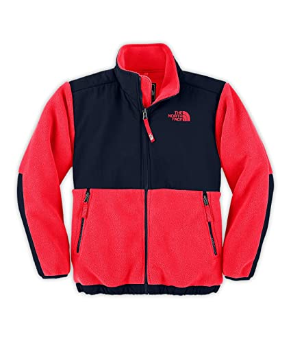 f1e71e532 The North Face Boy's Denali Fleece Jacket - L(14/16) Red/Deep Water