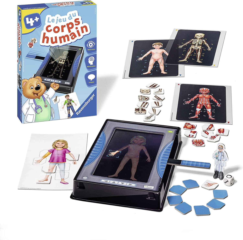 Le jeu du corps humain Ravensburger en promotion