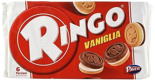 13 opinioni per Pavesi, Ringo famiglia vaniglia- 330 gr