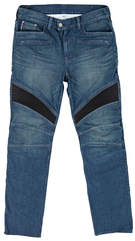 Joe Rocket Men's Accelerator Jean (Blue, Size 36) (Kevlar Reinforced Short)